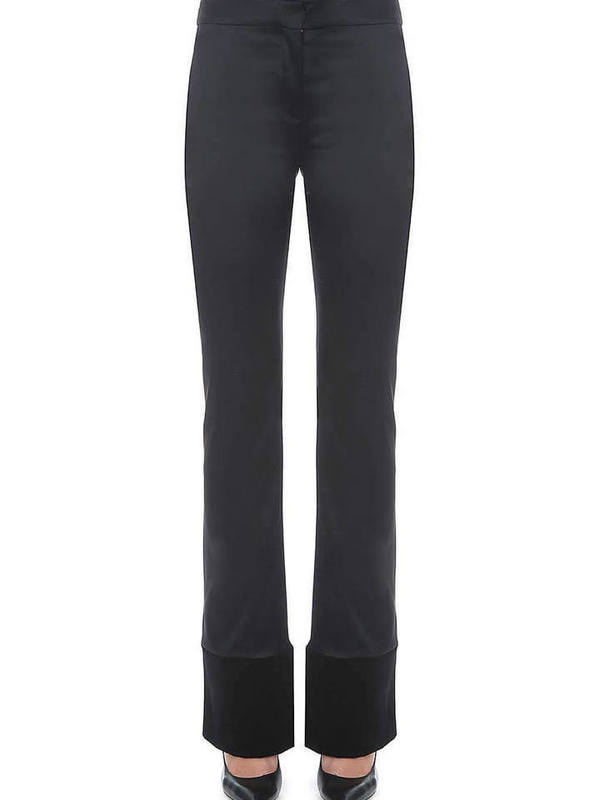 Moschino Satin Black Pants