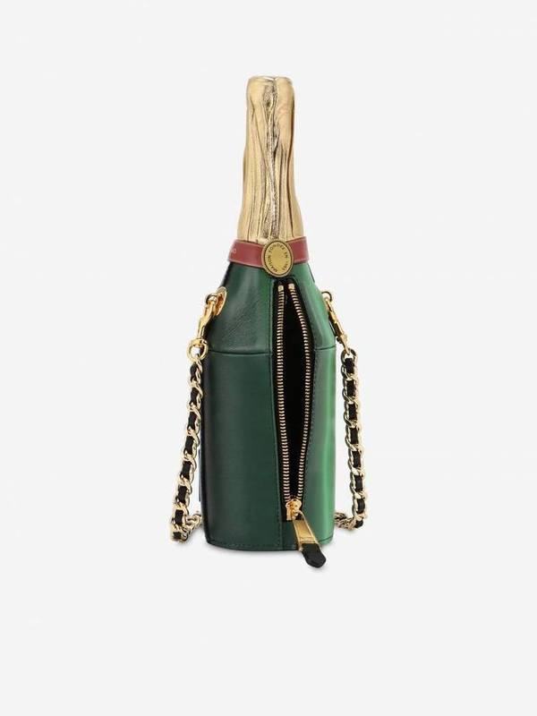 Moschino Grand Cru Champagne Bottle Bag