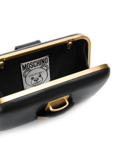 Moschino Teddy Pocket Clutch Bag