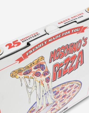 Moschino Pizza Box Bag