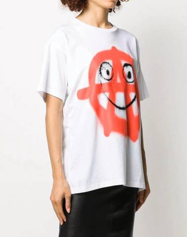Moschino Graffiti Print T-Shirt