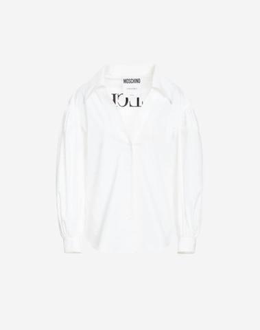 Moschino Poplin Shirt Bullchic