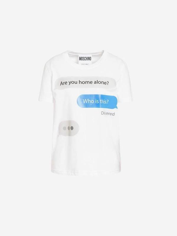 Moschino Jersey T-Shirt Chat