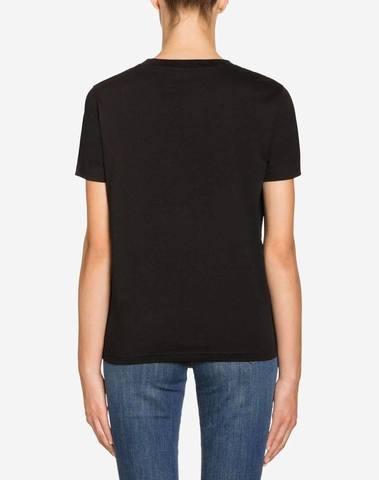 Moschino Black Trick Or Chic T-Shirt