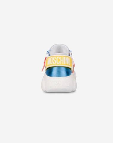 Moschino Roller Skates Teddy Shoes