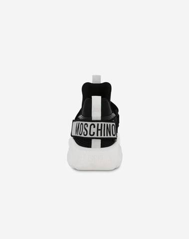 Moschino Teddy Sneakers With Strap