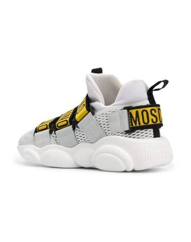Moschino Teddy Touch-Strap Sneakers