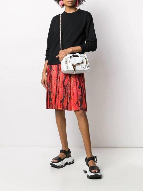 Moschino White Jacket Style Cross Body Bag