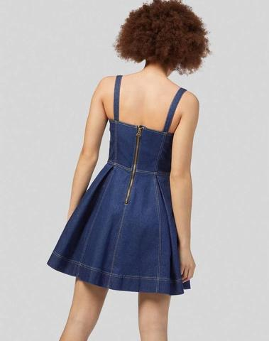Versace Denim Mini Dress