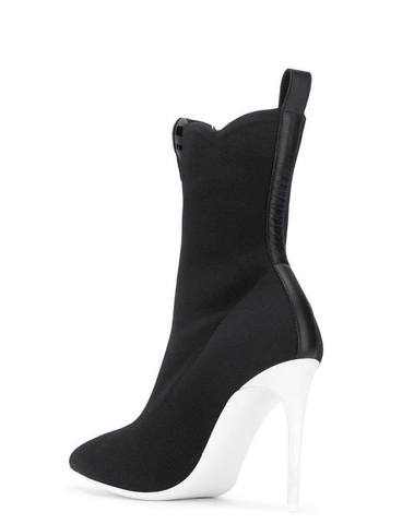 Moschino Pointed Ankle Boots