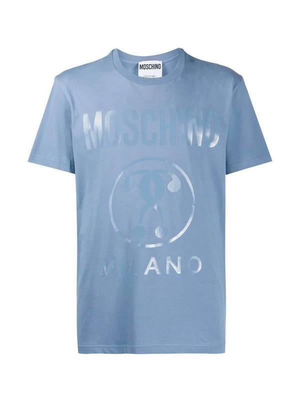 Moschino Double Question Mark Print T-Shirt