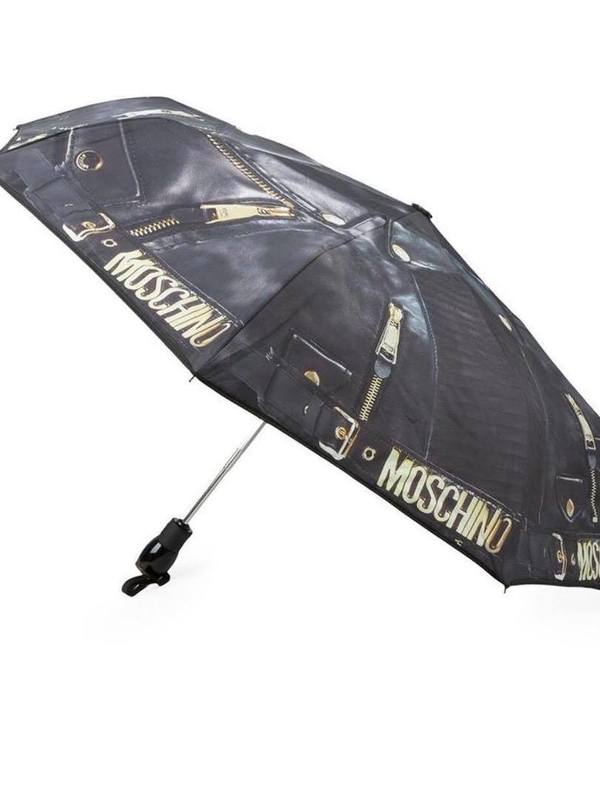 Moschino Biker Bag Print Umbrella