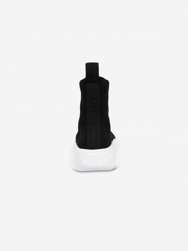 Moschino Teddy Shoes High Sock Sneakers