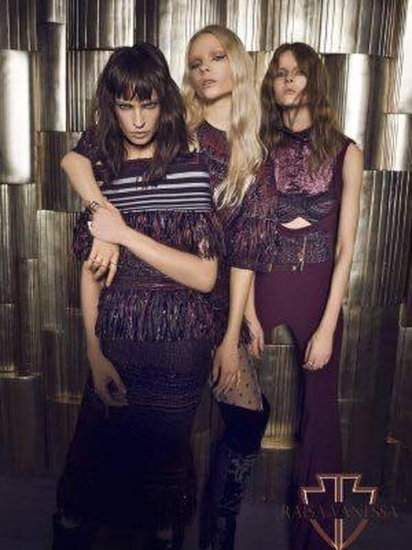 Raisa Vanessa Midi Dress FW 16/17