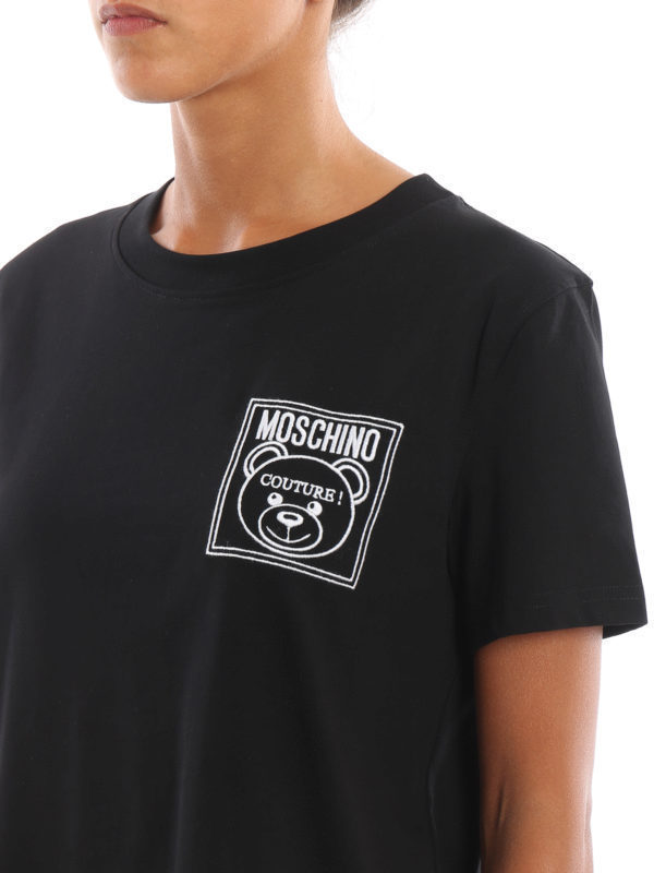Moschino Teddy Label Jersey T-shirt
