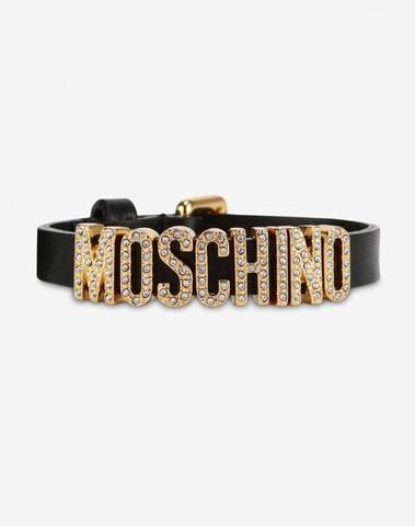 Moschino Lettering Jewel Bracelet