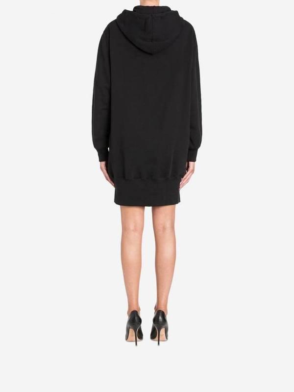 Moschino Teddy Embroidery Fleece Dress