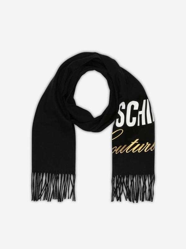 Moschino Couture Merino Wool Scarf
