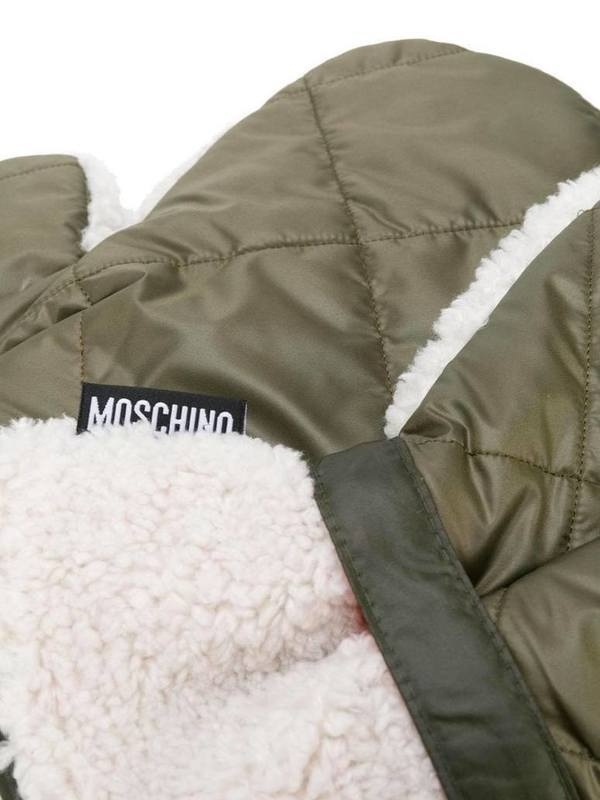 Moschino Fleece-Lined Gloves