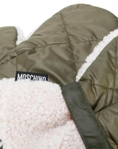 Moschino Fleece-Lined Gloves