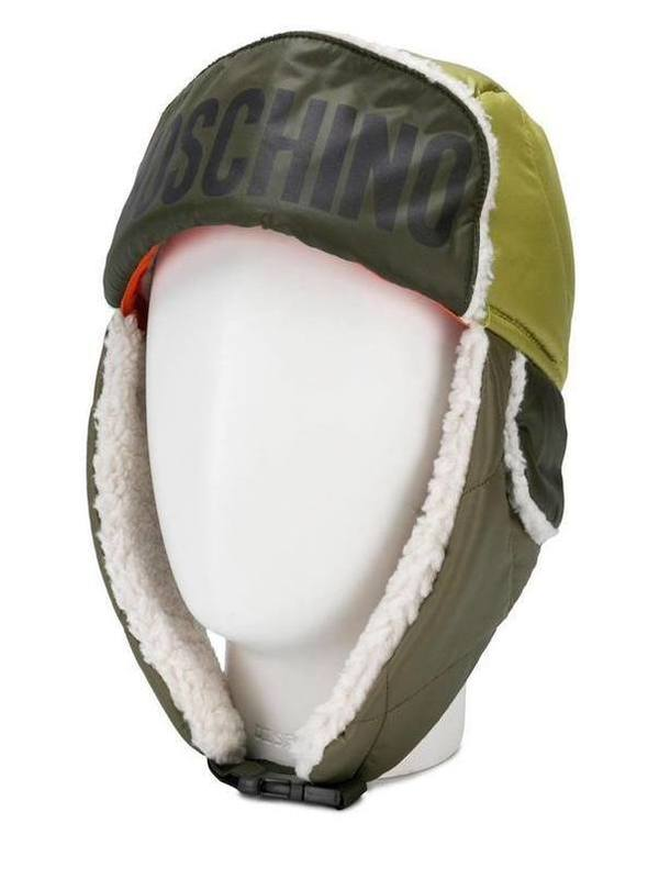 Moschino Fleece-Lined Hat